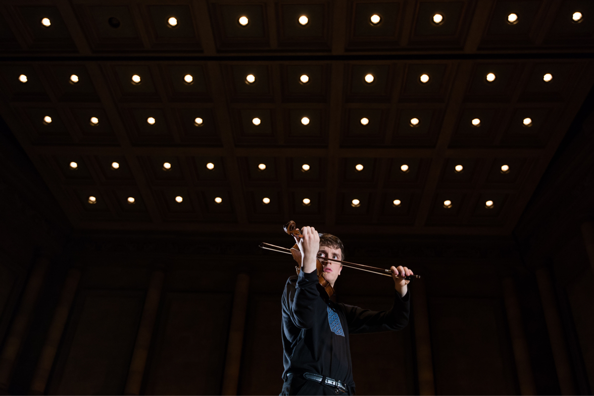 Musician performing - University of Rochester